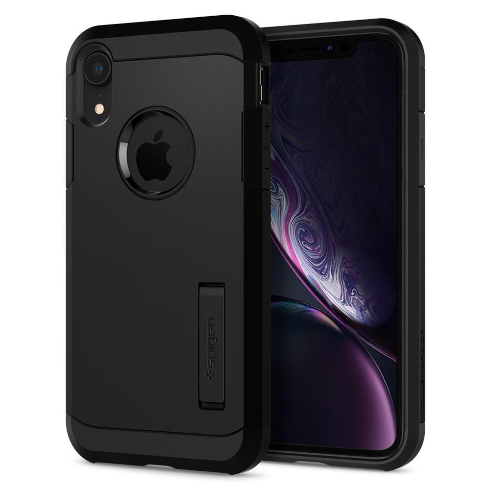 Wholesale cell phone accessory Spigen - Tough Armor Case for Apple iPhone XR - Black