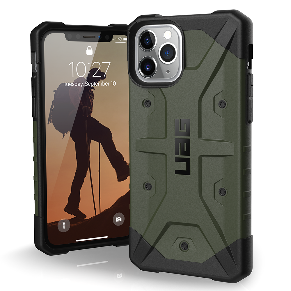 Urban Armor Gear (UAG) - Pathfinder Case for Apple iPhone 11 Pro - Olive Drab