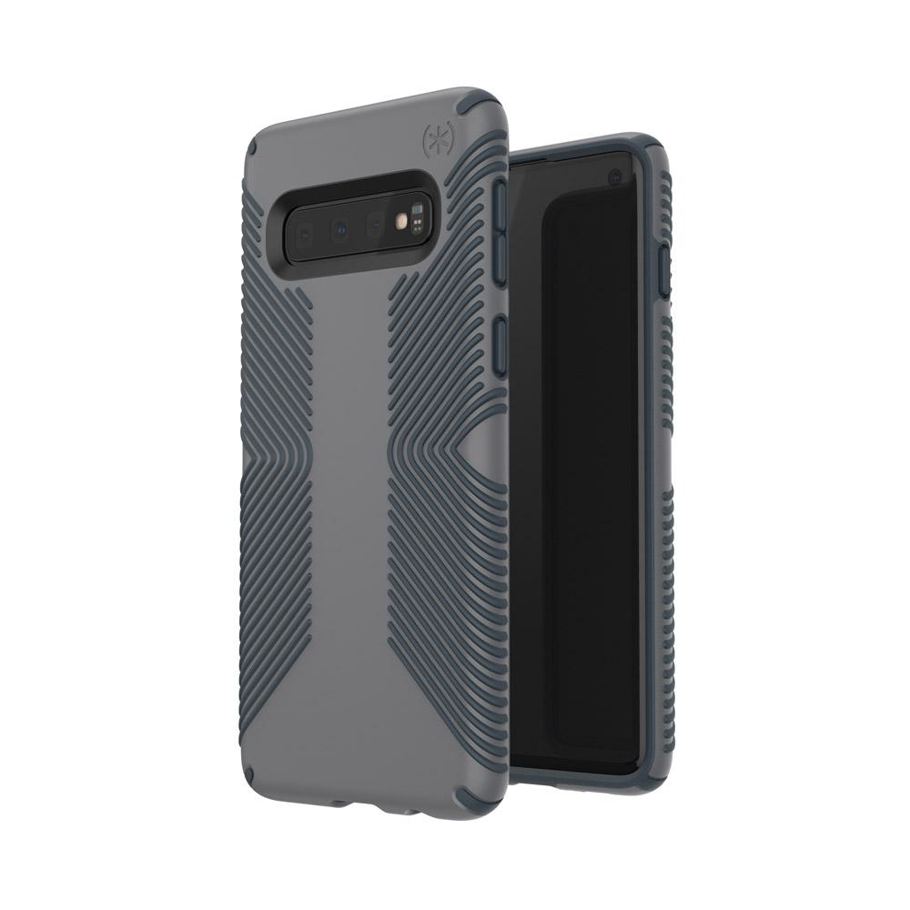 Wholesale cell phone accessory Speck - Presidio Grip Case for Samsung Galaxy S10 - Graphite