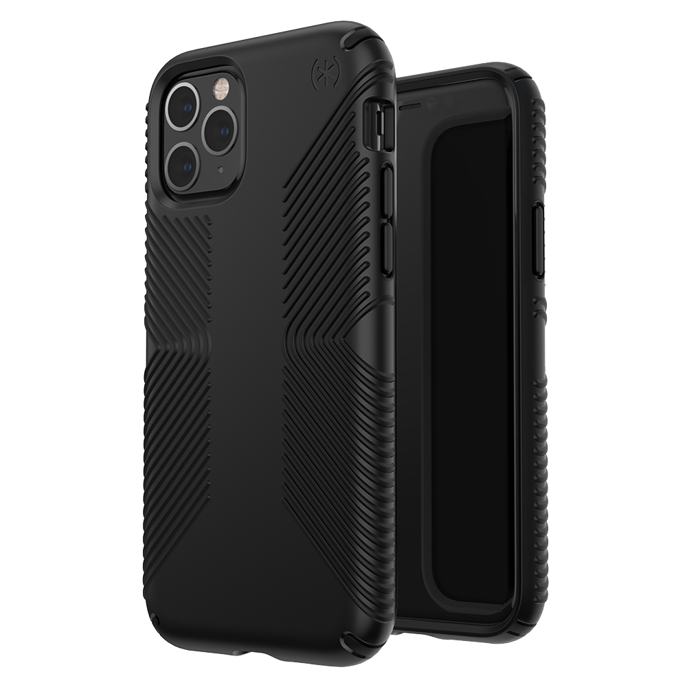 Wholesale cell phone accessory Speck - Presidio Grip Case for Apple iPhone 11 Pro - Black