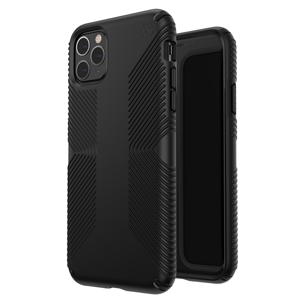 Wholesale cell phone accessory Speck - Presidio Grip Case for Apple iPhone 11 Pro Max - Black