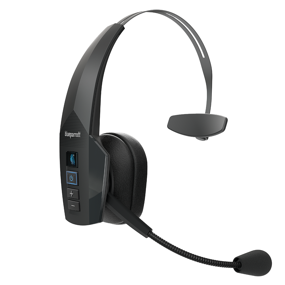 Wholesale cell phone accessory BlueParrott - B350-XT Bluetooth Mono On Ear Headset - Black