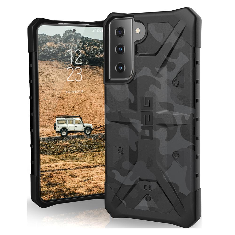 Urban Armor Gear (UAG) - Pathfinder Case for Samsung Galaxy S21 5G - Midnight Camo