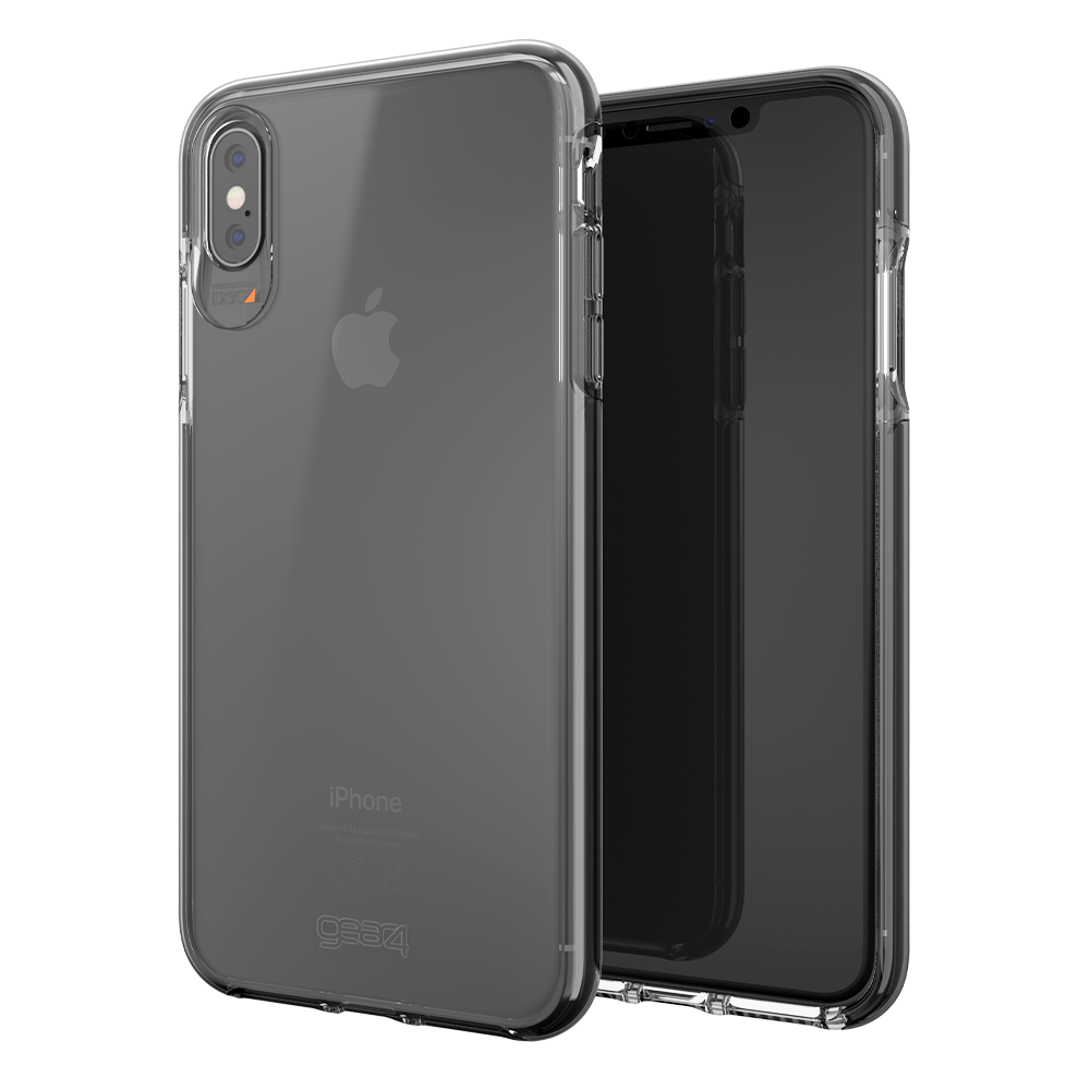 Wholesale cell phone accessory Gear4 - Piccadilly Case for Apple iPhone Xs Max - Clear and