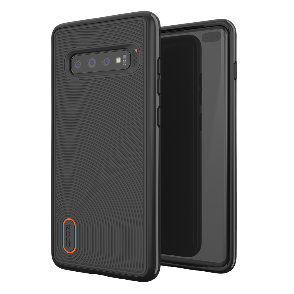 Wholesale cell phone accessory Gear4 - Battersea Case for Samsung Galaxy S10 Plus - Black