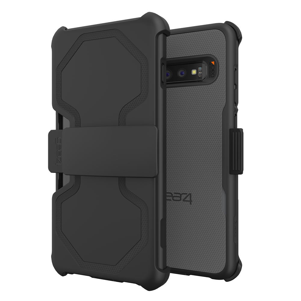 Wholesale cell phone accessory Gear4 - Platoon Case for Samsung Galaxy S10 Plus - Black