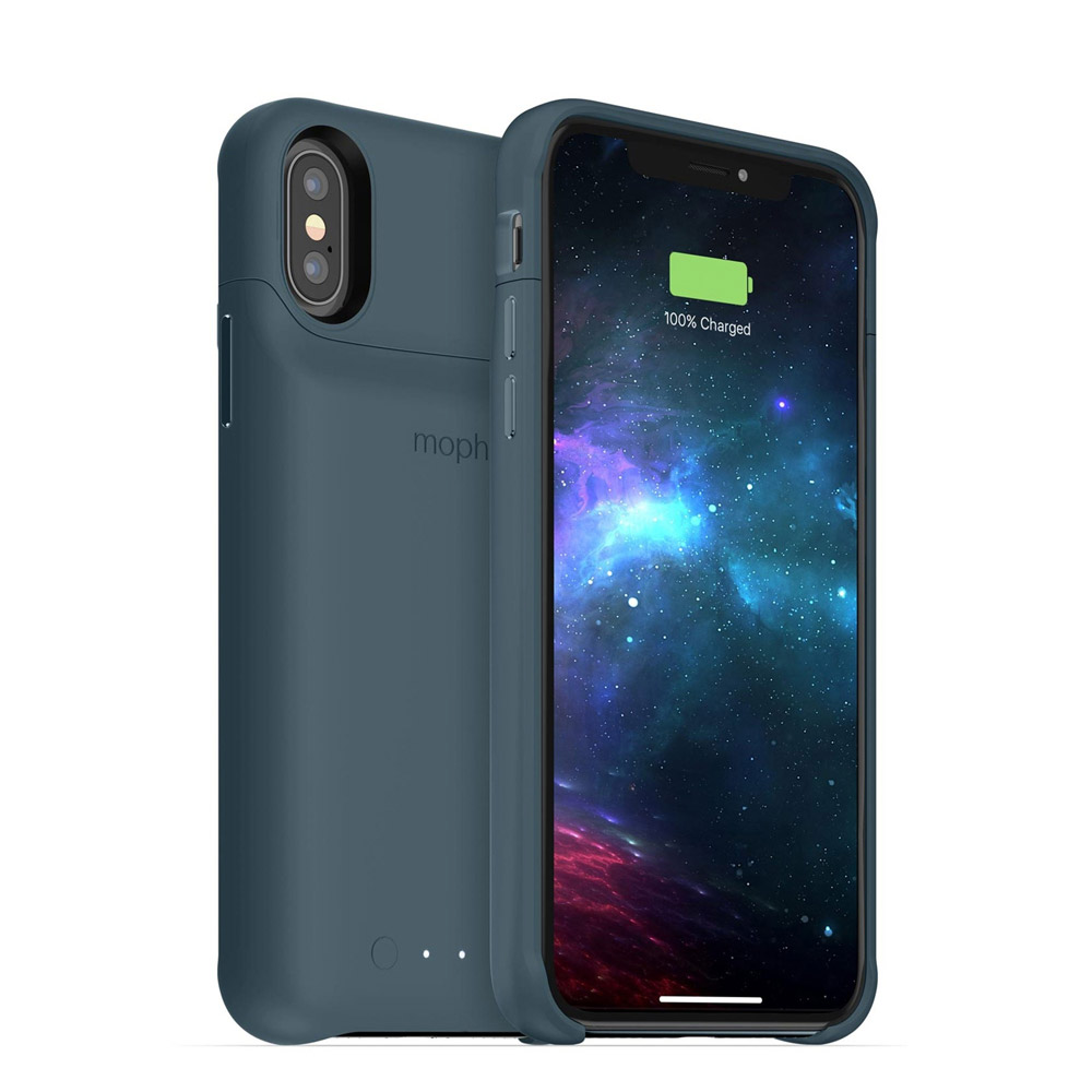 mophie - juice pack access Power Bank Case 2,000 mAh for Apple iPhone Xs / X - Stone