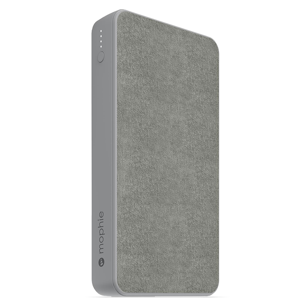 mophie - Powerstation Power Bank 15,000 mAh - Gray