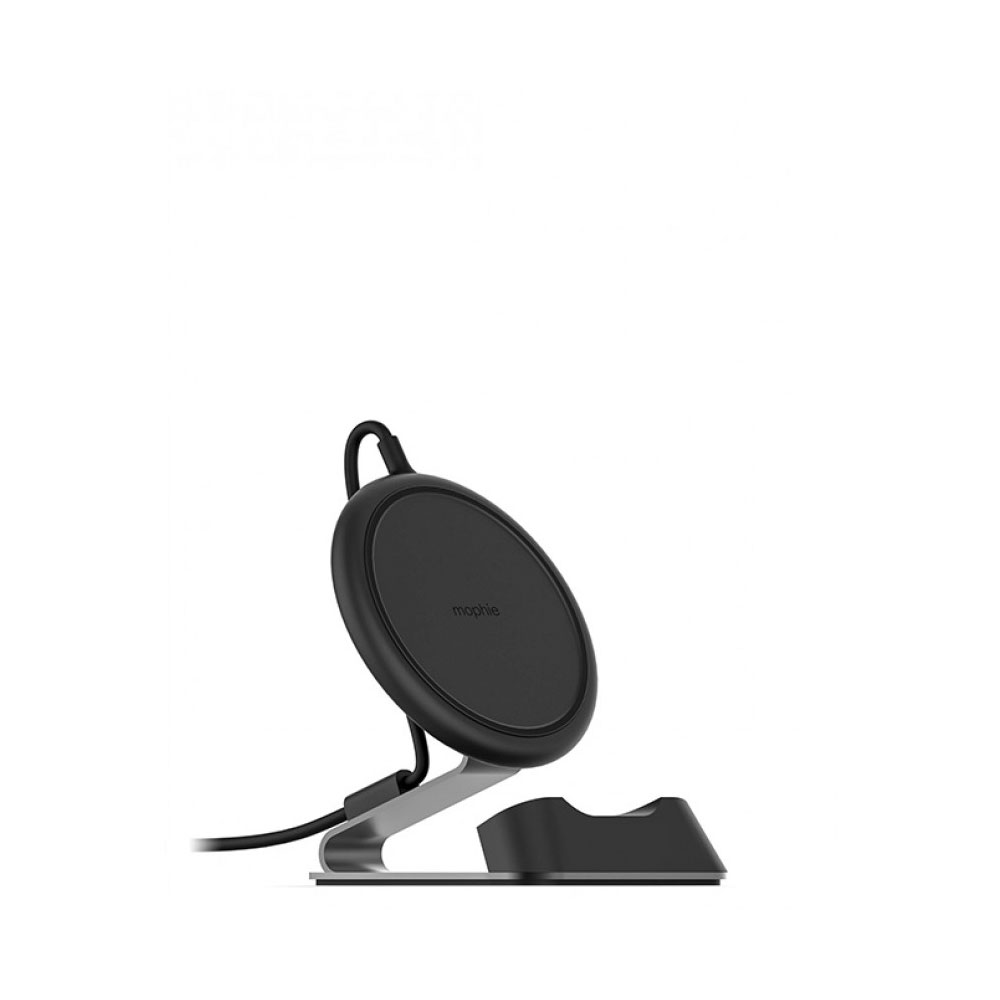 Wholesale cell phone accessory mophie - Charge Stream Wireless Charging Desk Stand 10W - Black