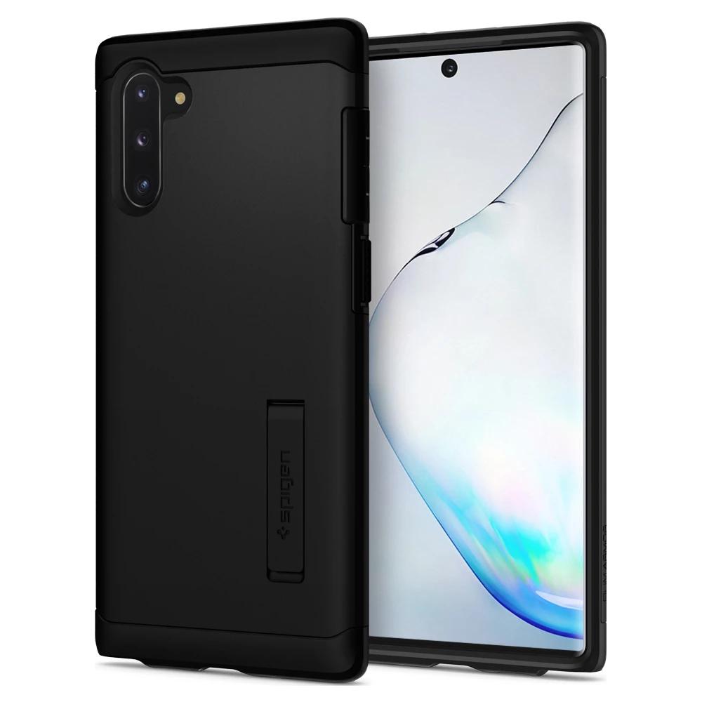 Spigen - Slim Armor Case for Samsung Galaxy Note 10 - Black