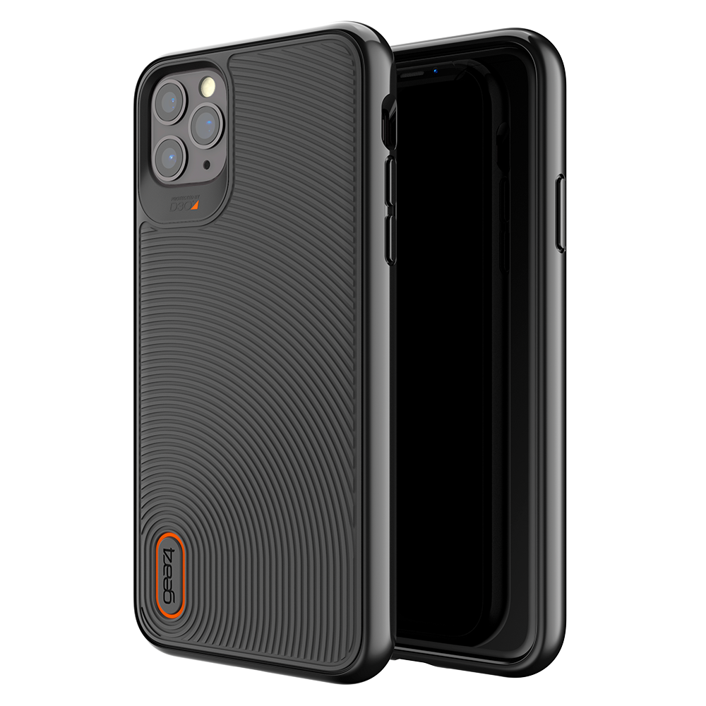 Gear4 - Battersea Case for Apple iPhone 11 Pro Max - Black