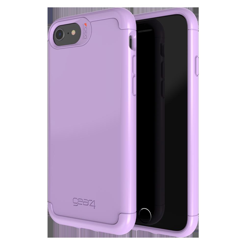 Gear4 - Wembley Case for Apple iPhone iPhone SE / 8 / 7 / 6s / 6 - Purple