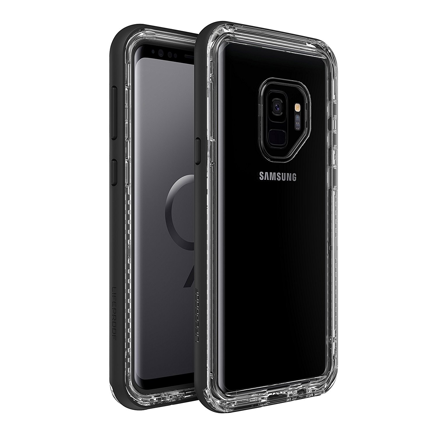 Wholesale cell phone accessory LifeProof - NEXT Case for Samsung Galaxy S9 - Black Crystal