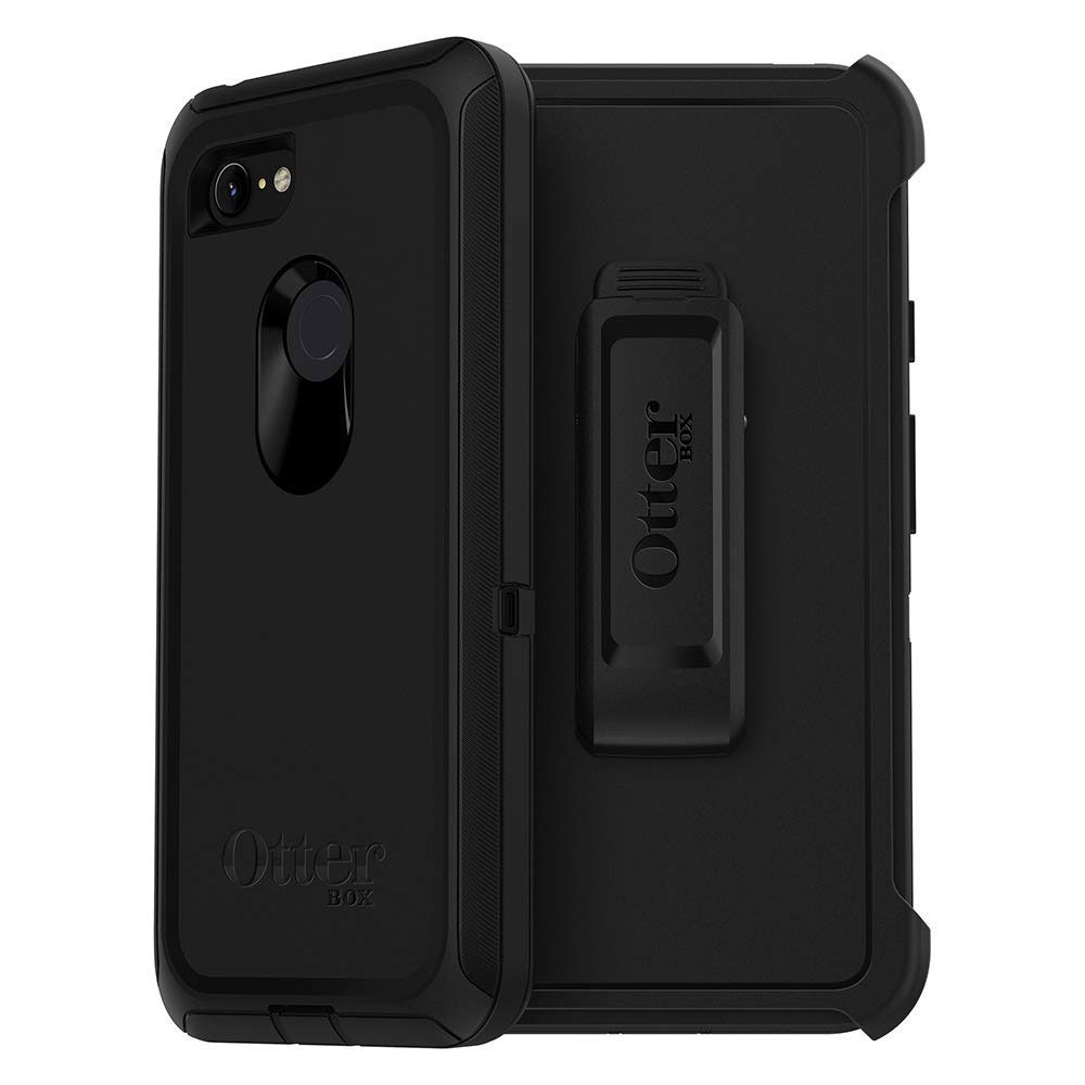 Wholesale cell phone accessory Otterbox - Defender Case for Google Pixel 3 XL  - Black
