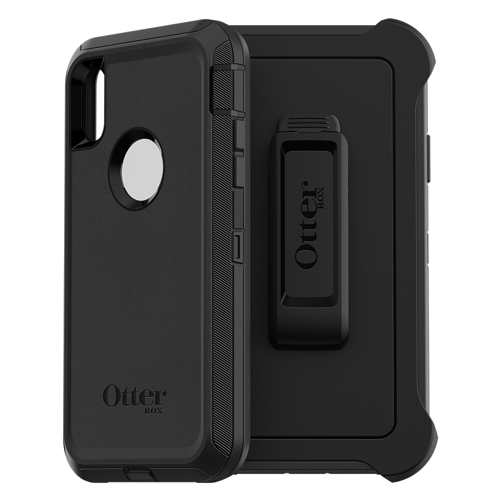 Wholesale cell phone accessory Otterbox - Defender Case for Apple iPhone XR  - Black