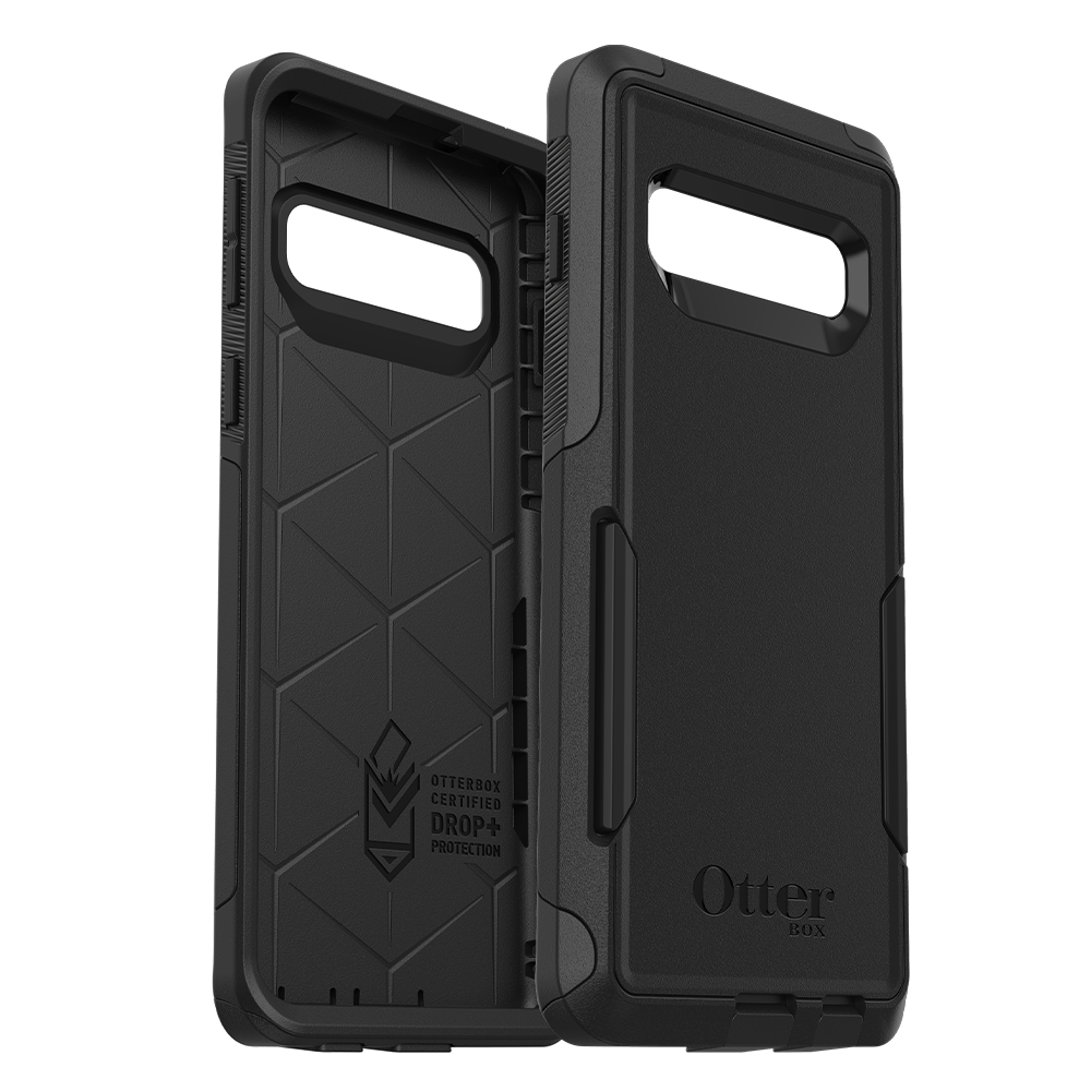 Wholesale cell phone accessory OtterBox - Commuter Case for Samsung Galaxy S10  - Black