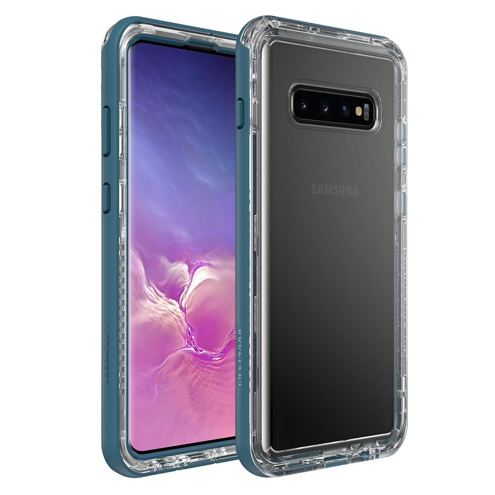 Wholesale cell phone accessory LifeProof - NEXT Case for Samsung Galaxy S10 Plus  - Clear Lake