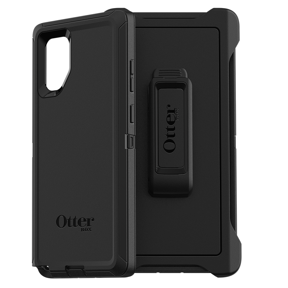 Wholesale cell phone accessory OtterBox - Defender Case for Samsung Galaxy Note 10 Plus - Black