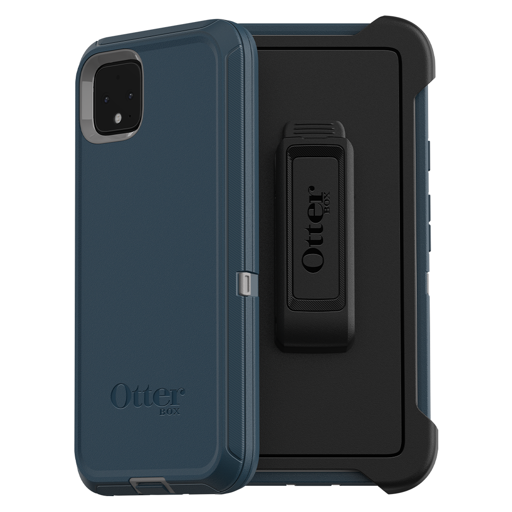 Wholesale cell phone accessory OtterBox - Defender Case for Google Pixel 4 XL - Gone Fishin