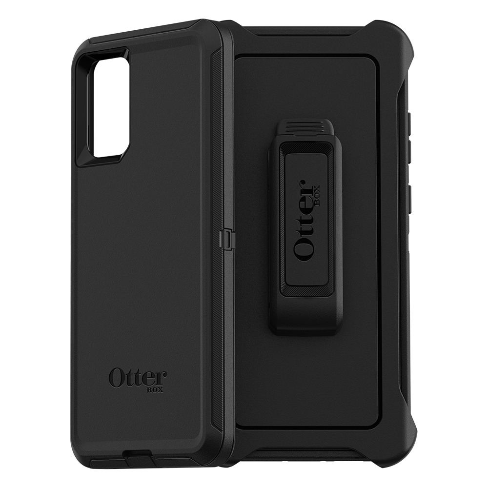 Wholesale cell phone accessory OtterBox - Defender Case for  Samsung Galaxy S20 Plus - Black