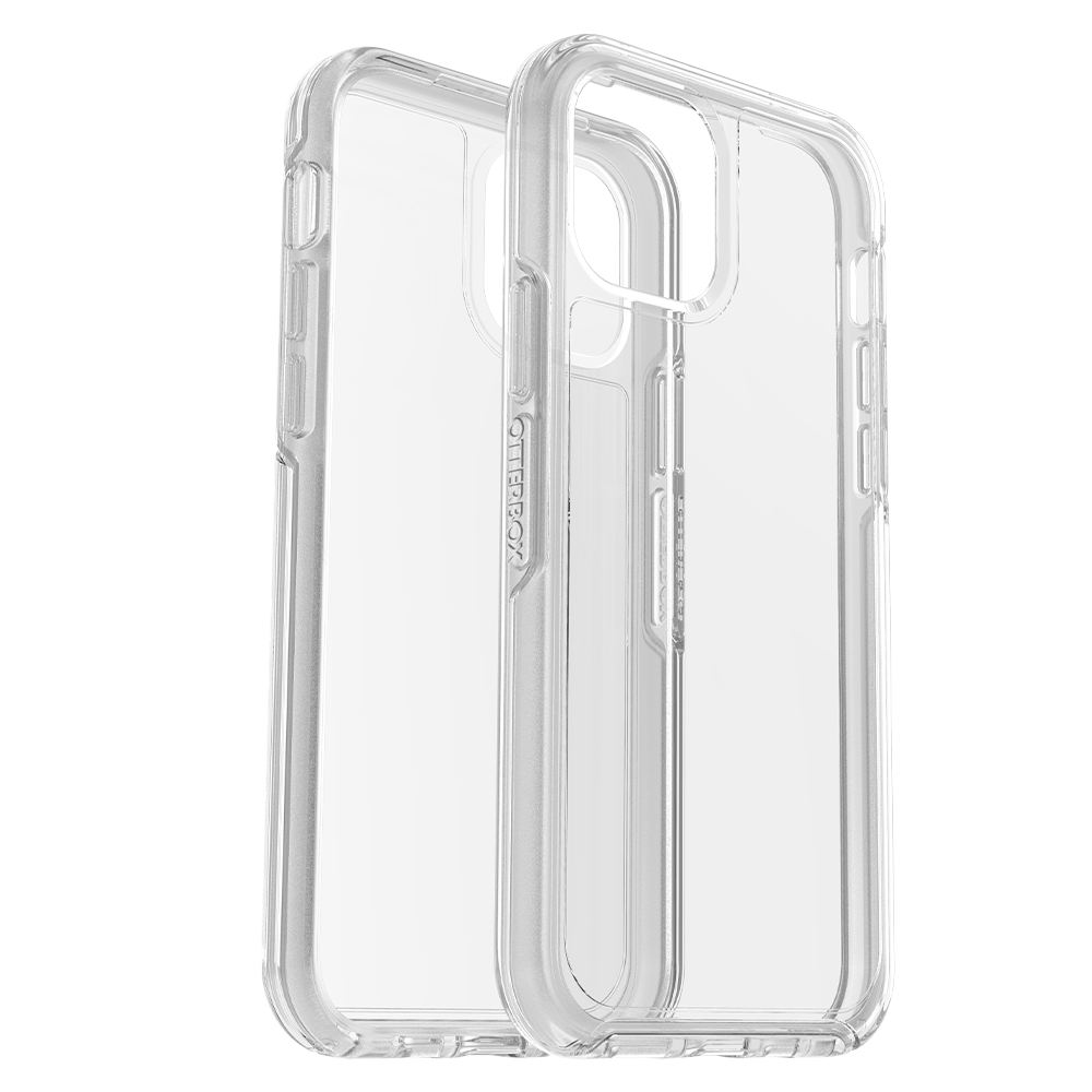 Wholesale cell phone accessory OtterBox - Symmetry Case for Apple iPhone 12  /  12 Pro - Clear