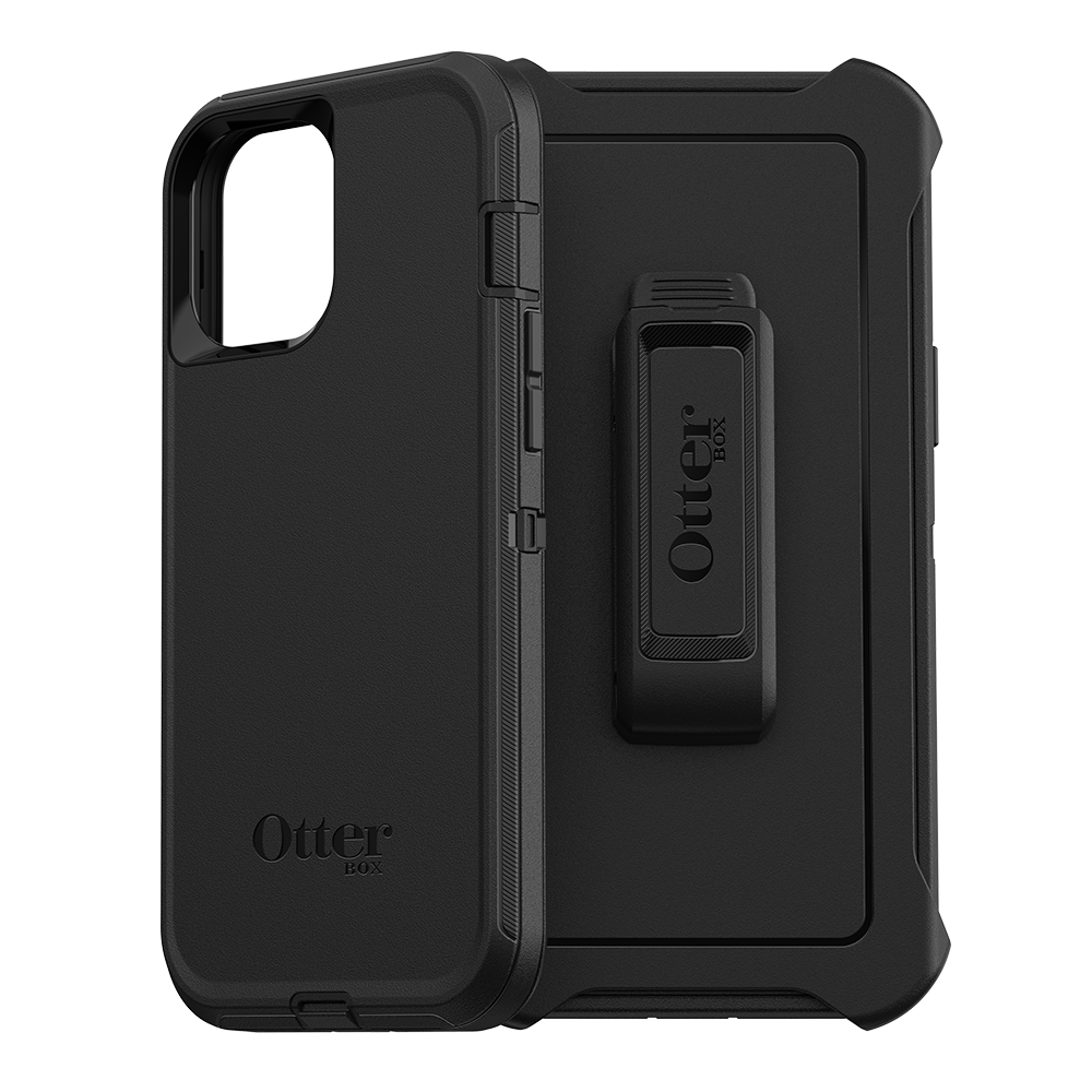 Wholesale cell phone accessory OtterBox - Defender Case for Apple iPhone 12 Pro Max - Black