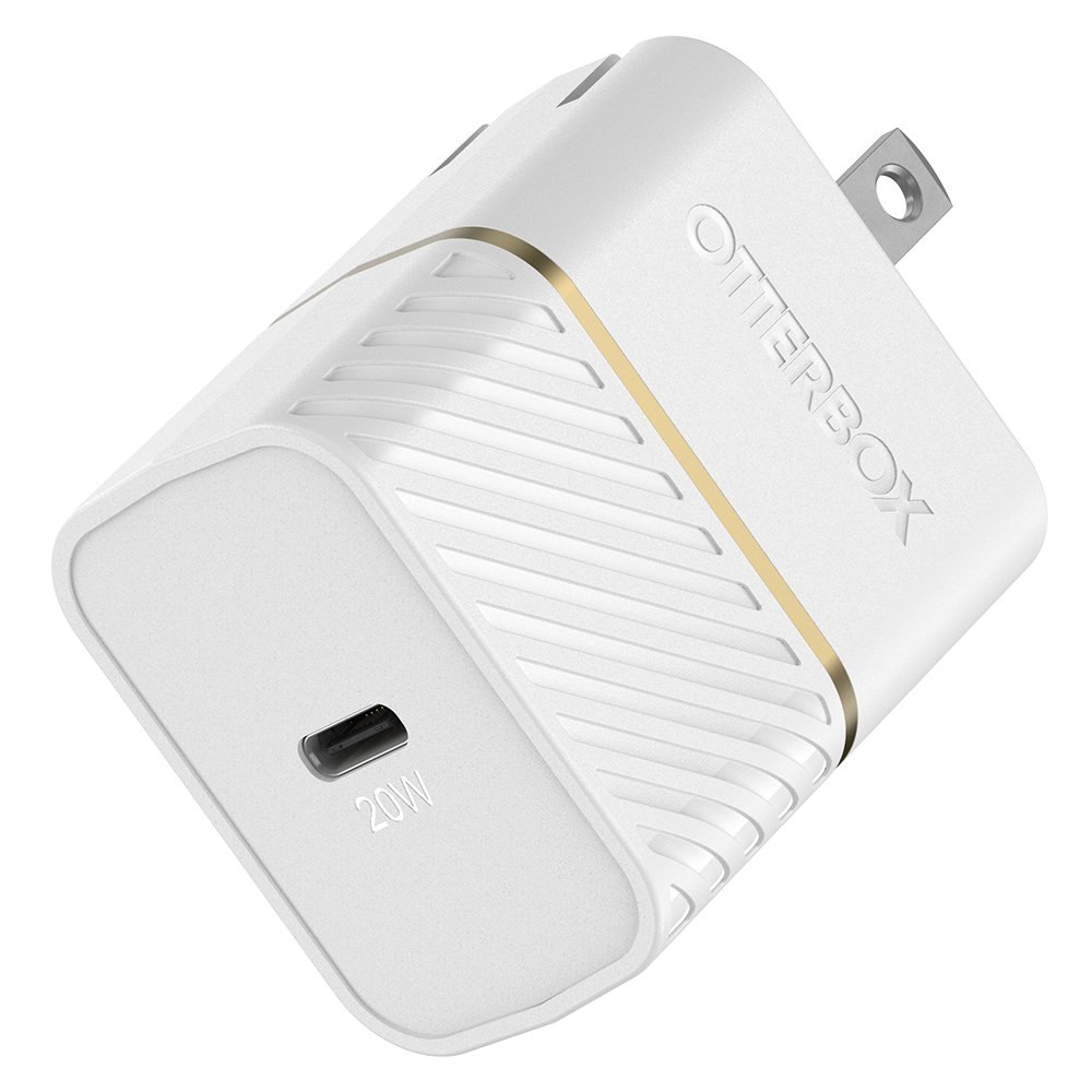 Wholesale cell phone accessory OtterBox - USB C PD Wall Charger 20W - Cloud Dust