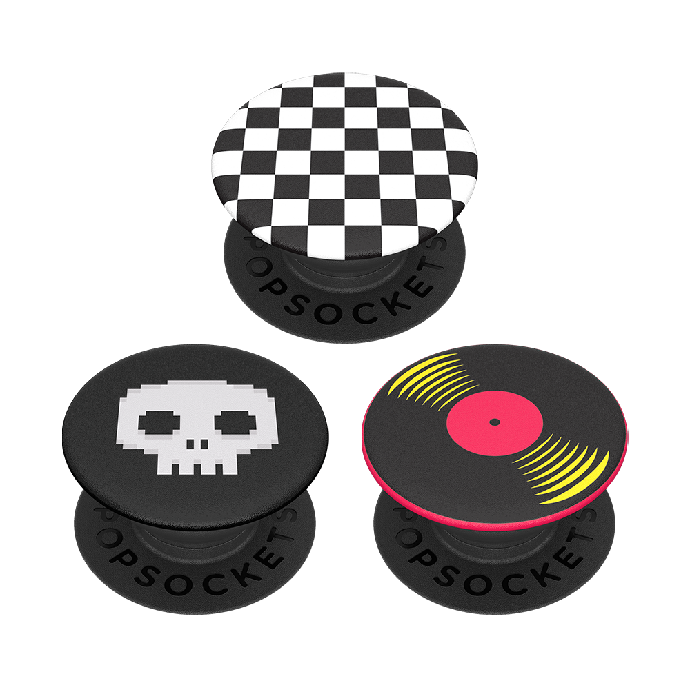 Wholesale cell phone accessory PopSockets - PopMinis Device Stand and Grip Three Pack - Punk