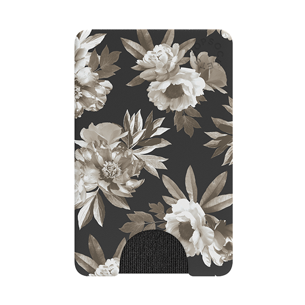 Wholesale cell phone accessory PopSockets - PopWallets Card Holder - Mono Floral