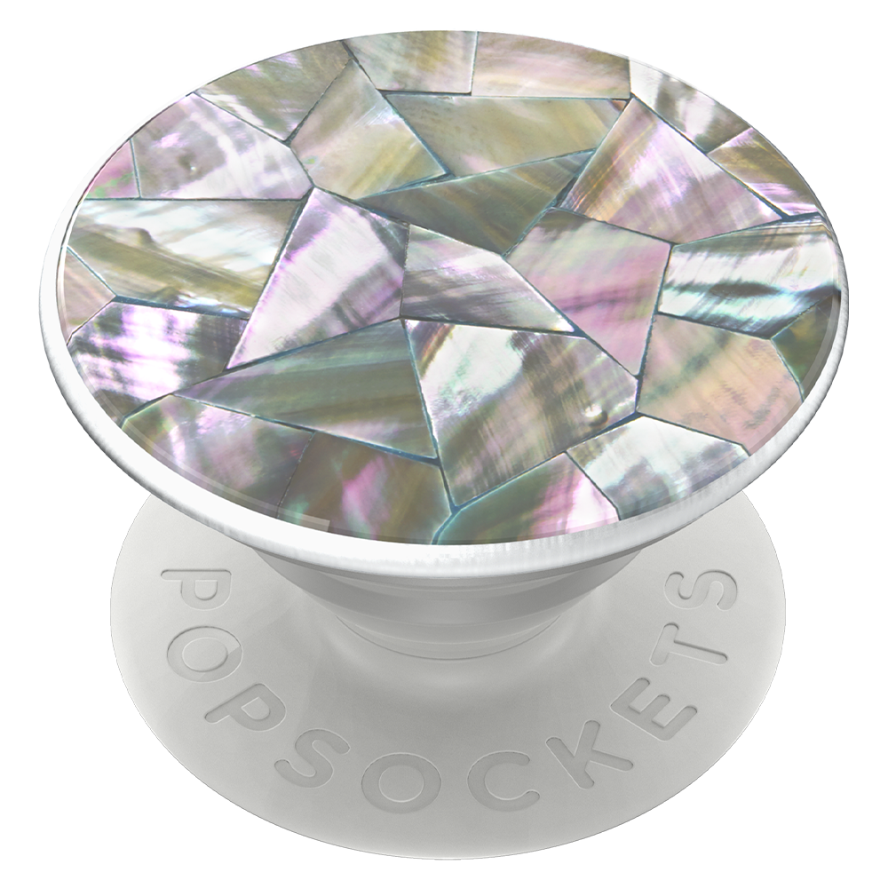Wholesale cell phone accessory PopSockets - PopGrip Luxe - Genuine Abalone Mosaic