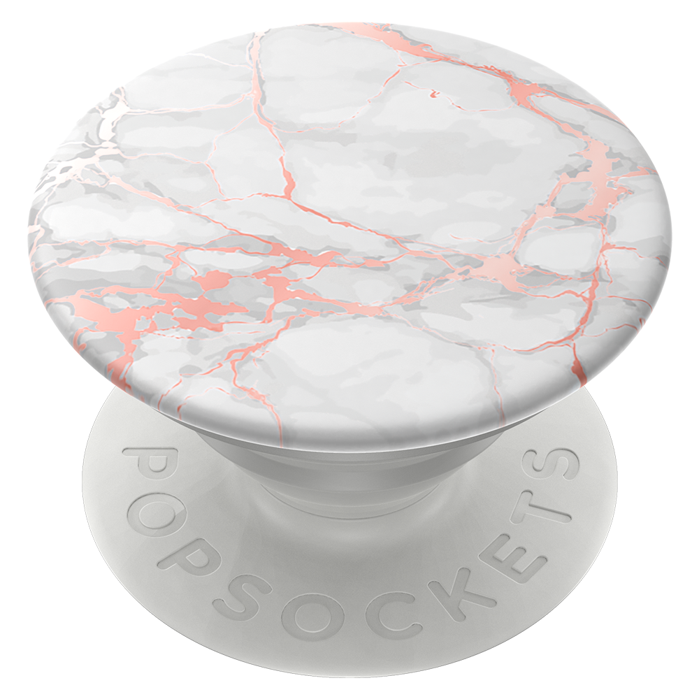 Wholesale cell phone accessory PopSockets - PopGrip - Rose Gold Lutz Marble