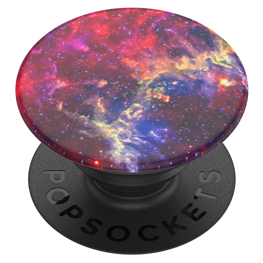 PopSockets - PopGrip Swappable Device Stand and Grip - Magenta Nebula