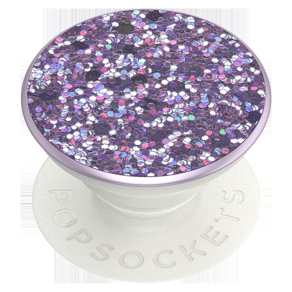 Wholesale cell phone accessory PopSockets - PopGrip Premium - Sparkle Lavender Purple