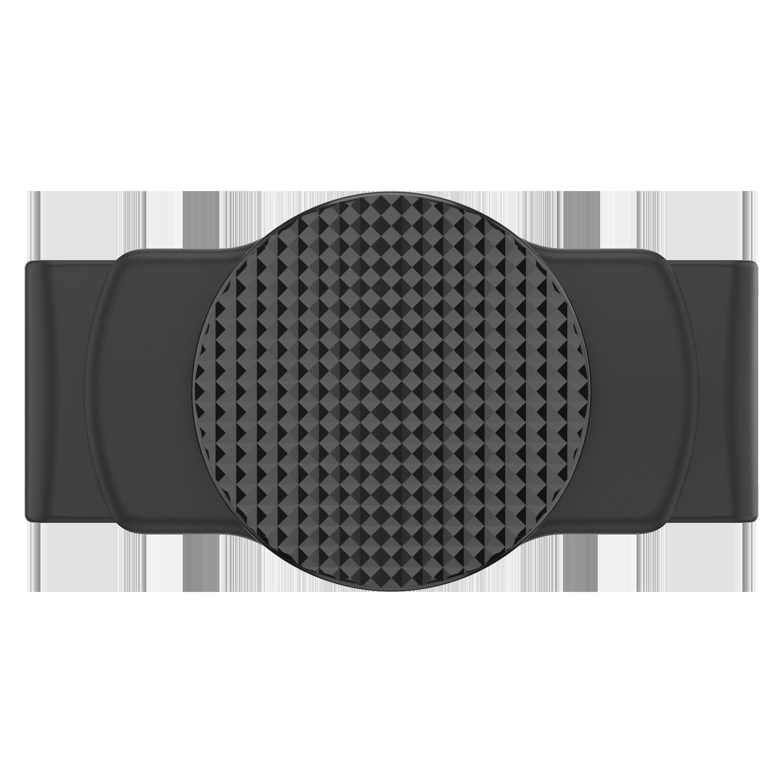 PopSockets - PopGrip Slide Stretch - Black Knurled Texture