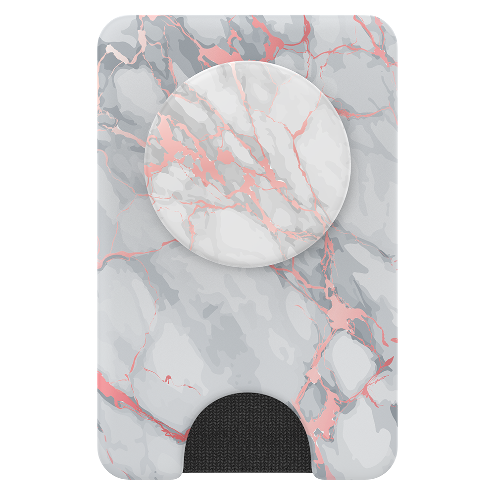 Wholesale cell phone accessory PopSockets - PopWallet Plus for Apple MagSafe - Rose Gold Lutz