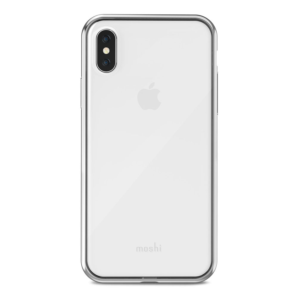 Moshi - Vitros Case for Apple iPhone Xs  /  X - Silver