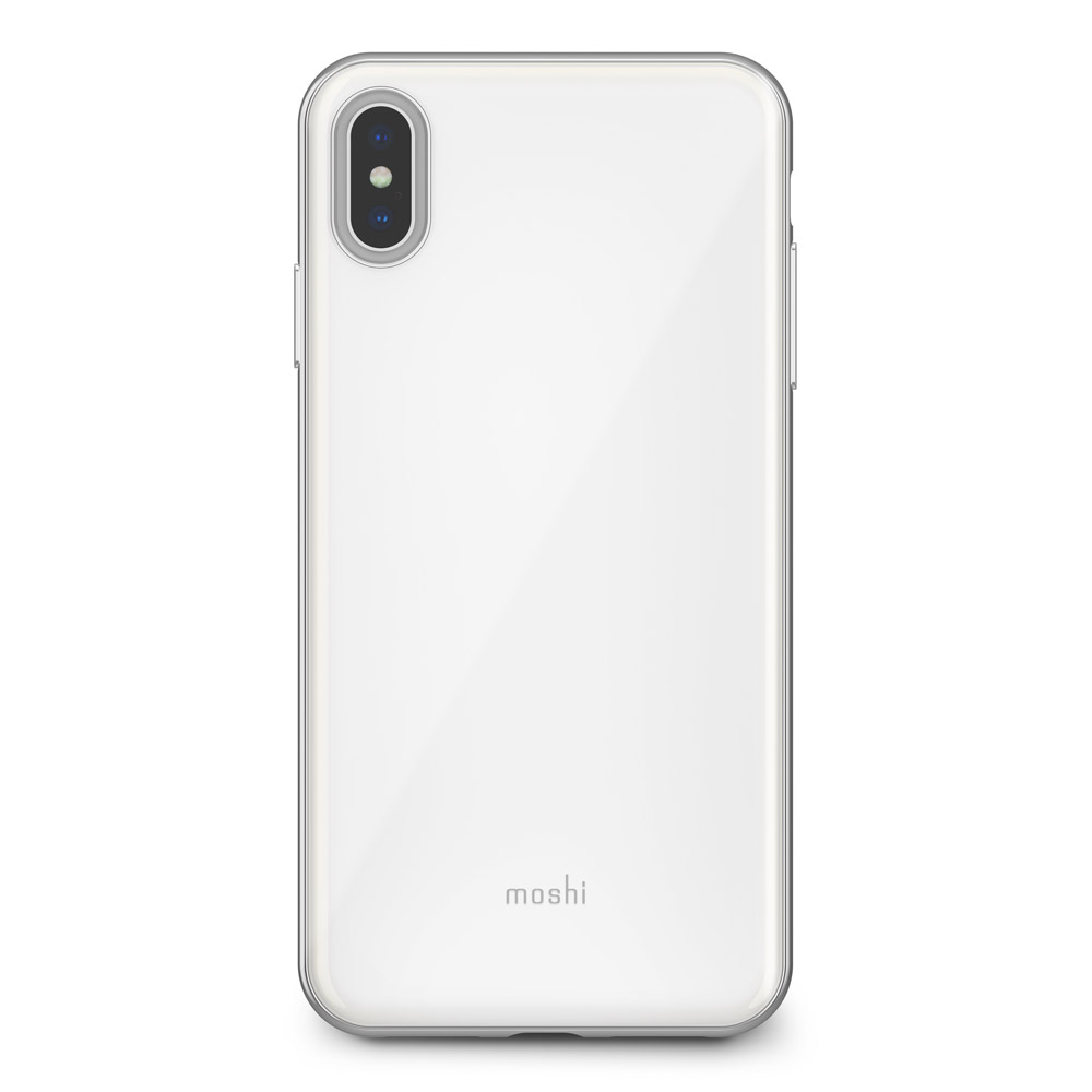 Wholesale cell phone accessory Moshi - iGlaze Case for Apple iPhone Xs Max - White
