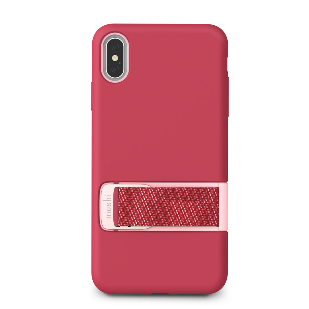 Moshi - Capto Case for Apple iPhone Xs  /  X - Raspberry Pink