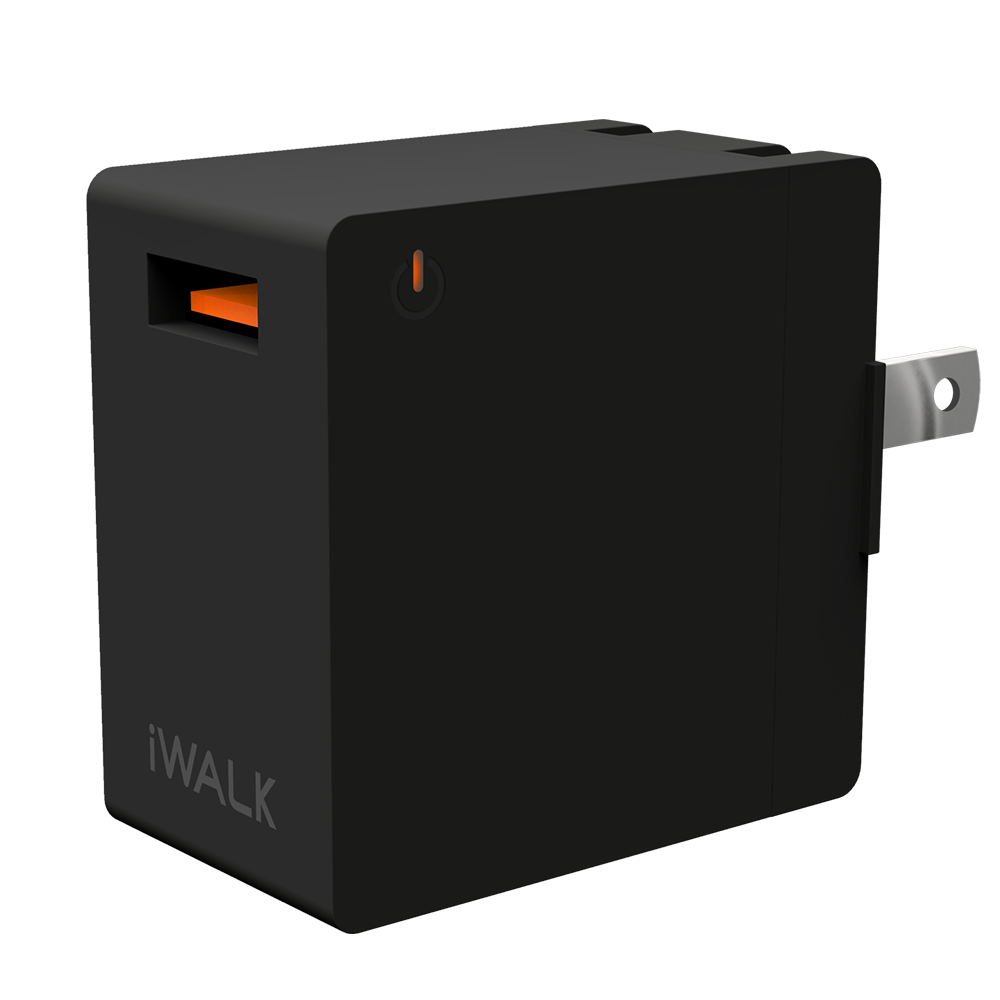 Wholesale cell phone accessory iWalk - Leopard Quick Charge 3.0 Wall Charger 2.4A Universal