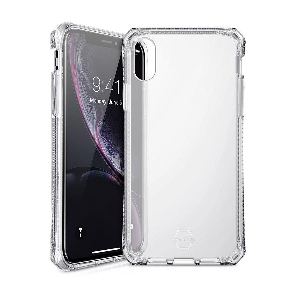 Wholesale cell phone accessory ITSKINS - Spectrum Clear Case for Apple iPhone XR - Transparent