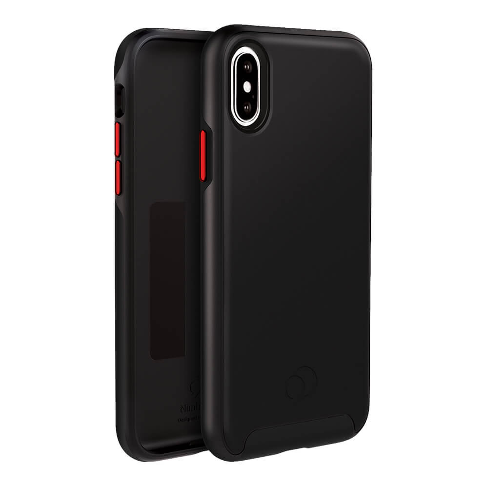 Wholesale cell phone accessory Nimbus9 - Cirrus 2 Case for Apple iPhone Xs  /  X - Black