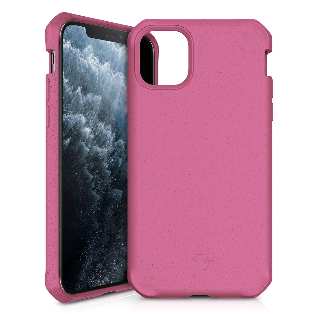 ITSKINS - FeroniaBio Biodegradable Case for Apple iPhone 11 Pro - Pink