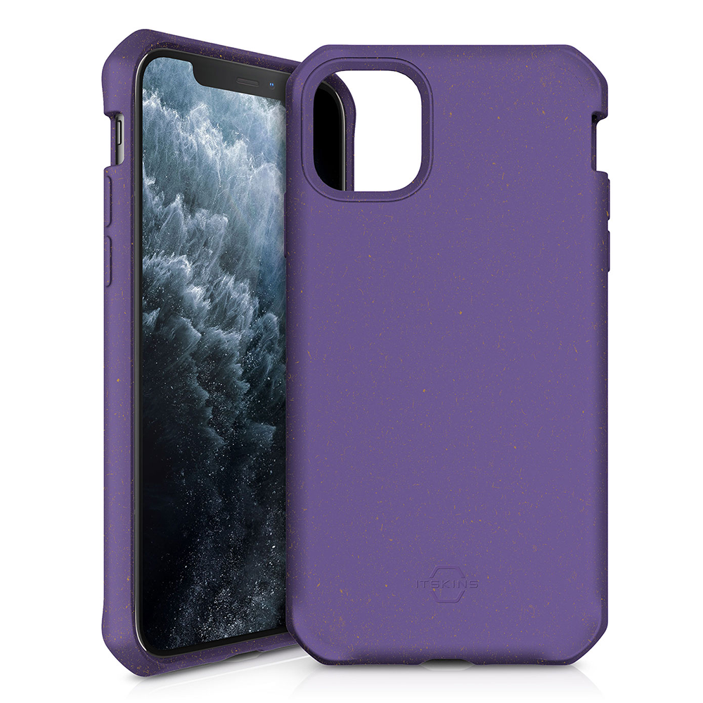 ITSKINS - FeroniaBio TERRA Biodegradable Case for Apple iPhone 11 Pro - Purple