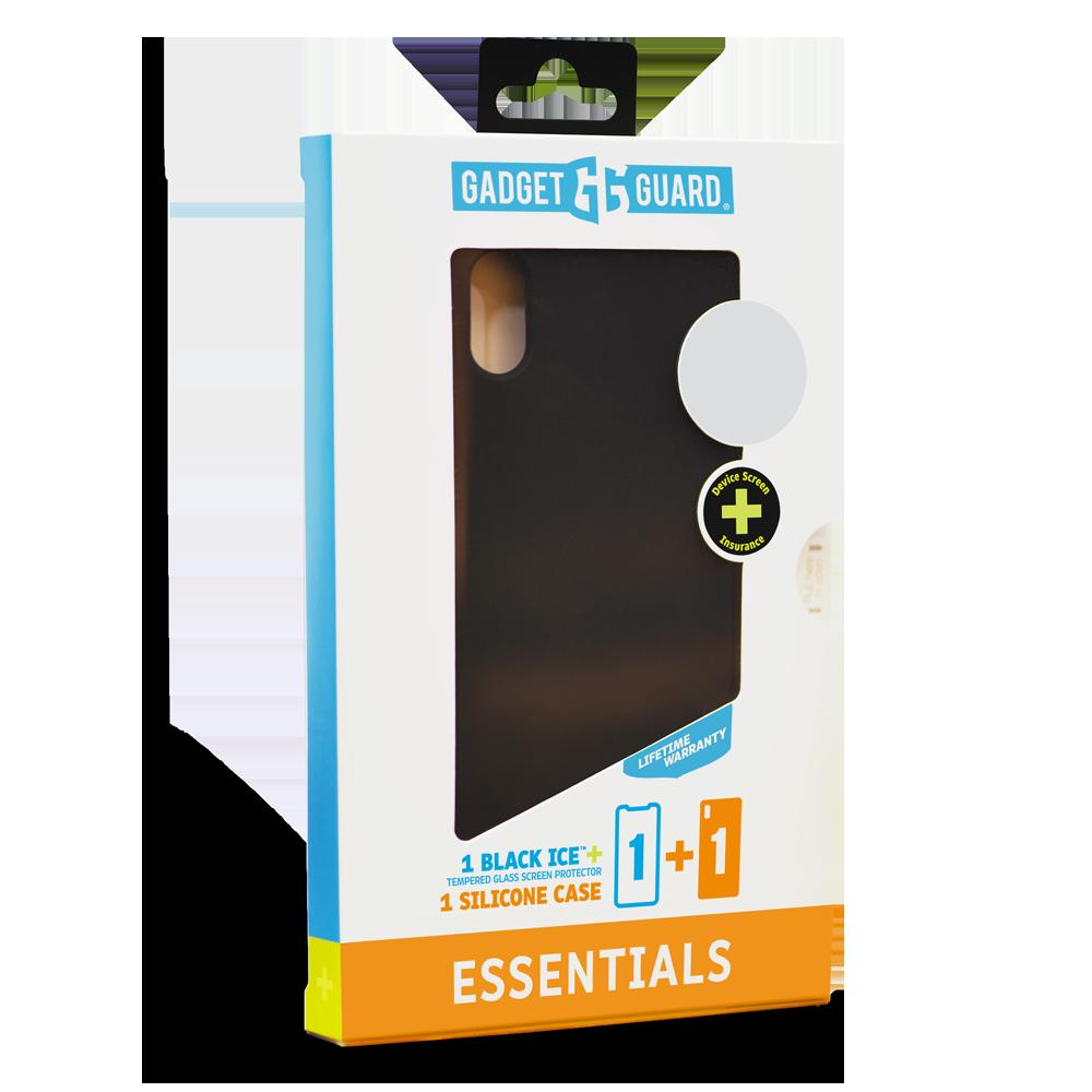 Wholesale cell phone accessory Gadget Guard - Essentials Plus Insured Bundle Case Plus Glass