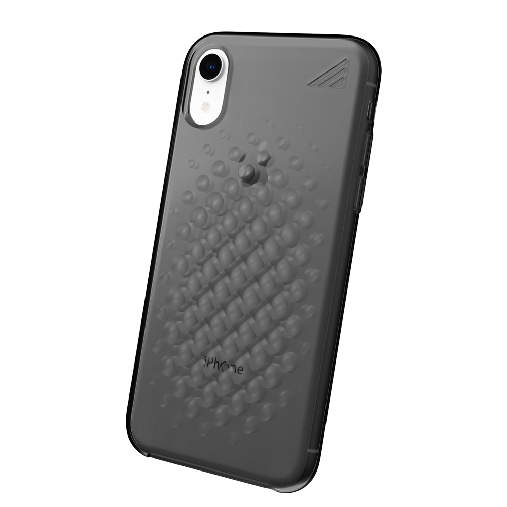 Wholesale cell phone accessory Brink - array Case for Apple iPhone XR - Smoke