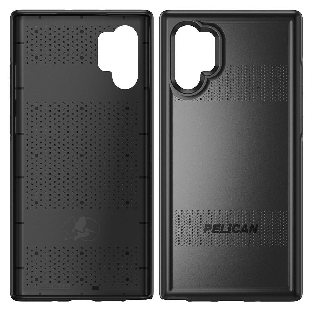 Pelican - Protector Case for Samsung Galaxy Note 10 Plus - Black