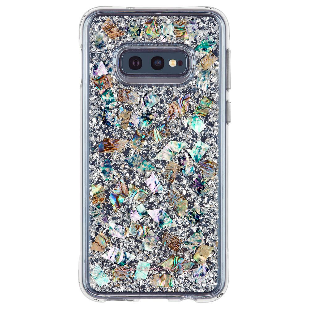 Wholesale cell phone accessory Case-Mate - Karat Case for Samsung Galaxy S10e - Mother of Pearl