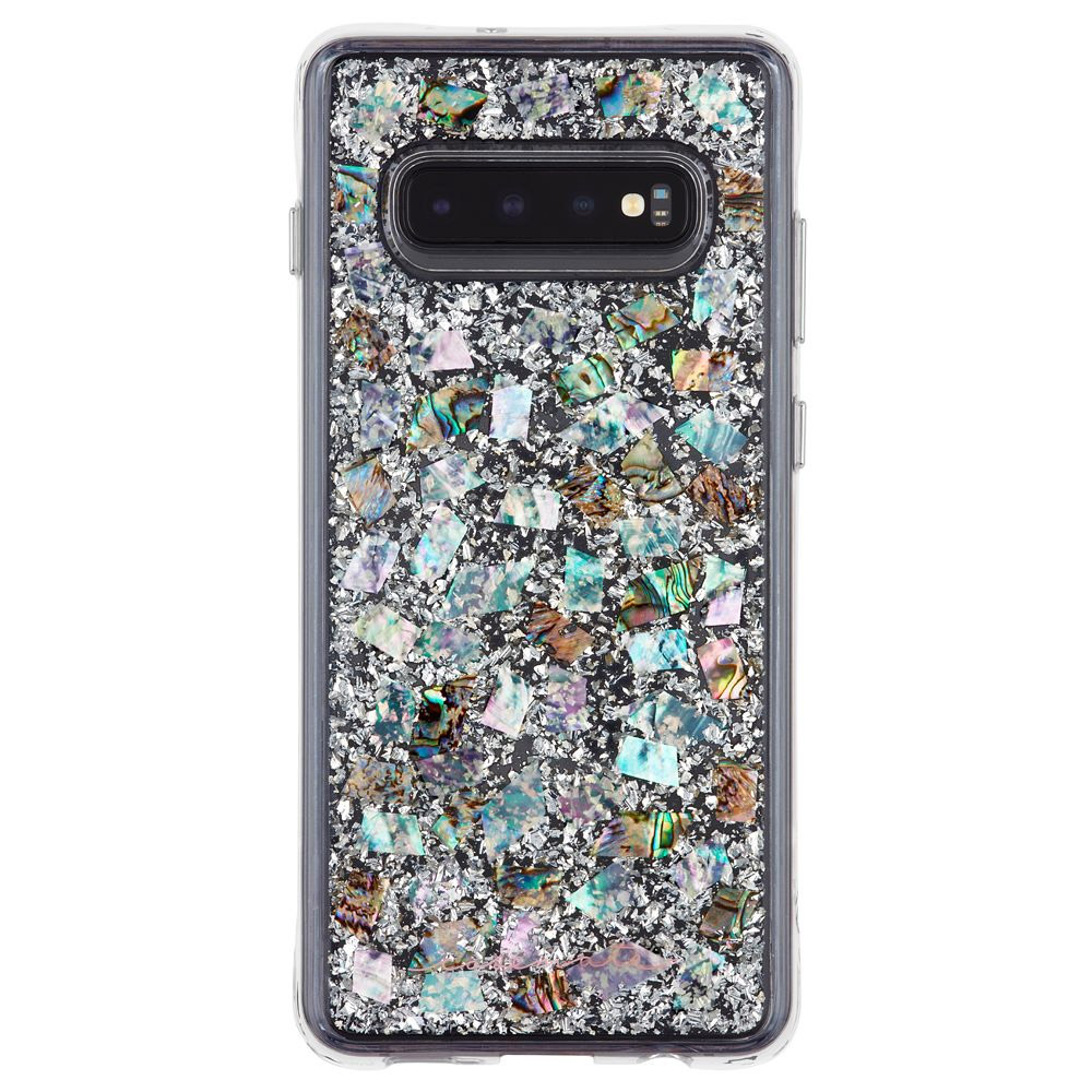 Wholesale cell phone accessory Case-Mate - Karat Case for Samsung Galaxy S10 - Mother of Pearl
