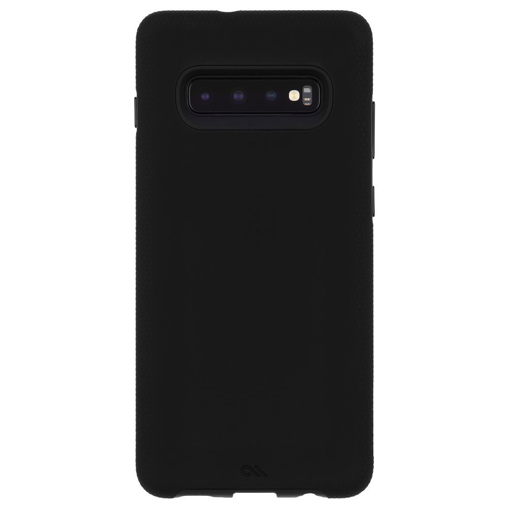Wholesale cell phone accessory Case-Mate - Tough Grip Case for Samsung Galaxy S10 Plus - Black