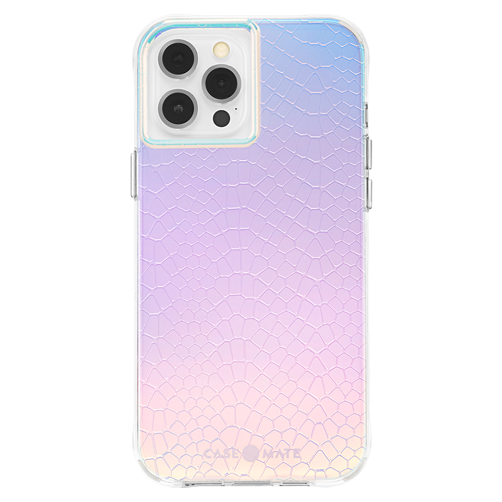 Case-Mate - Iridescent Snake Case for Apple iPhone 12 Pro Max - Iridescent Snake